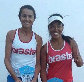 Categoria Feminina - Campeãs Silvia e Camila