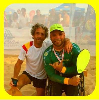 Com o Parceiro no Mundial em Santander - Jose Manoel Torres
