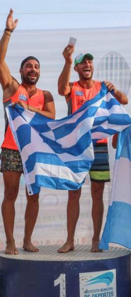 Minas e Vasilis - Campeões Mundiais 2016